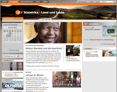 ZDF-Spezial Südafrika